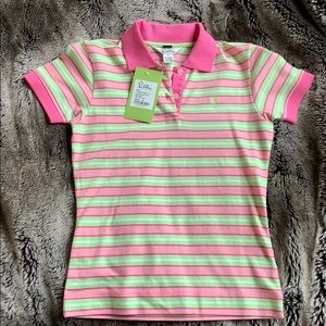 Lilly Pulitzer SzS(XS) Baby Fit Stripe Polo